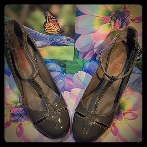 Michael Kors Wedge Leather Heels